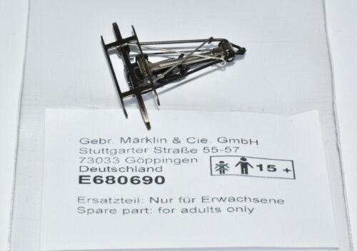 Märklin H0 680690 Einholm- Stromabnehmer schwarz//silber NEUWARE E680690