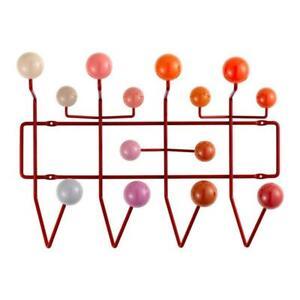 Vitra - HANG IT ALL Appendiabiti - Charles & Ray Eames - ROSSO