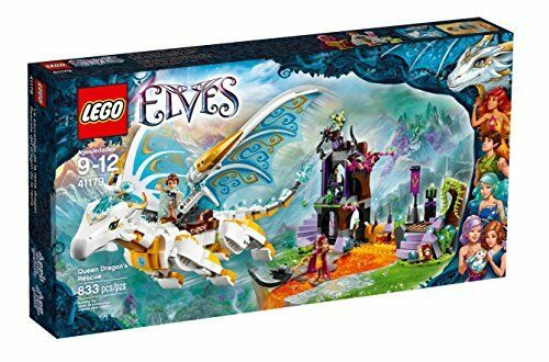 Lego  Elf Queen Dragon's rescue 41179