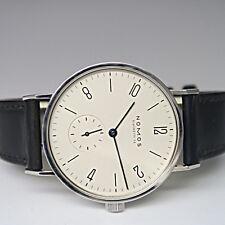 Nomos Glashütte-SA Tangente Handaufzug Uhr Ø 35 mm in Stahl