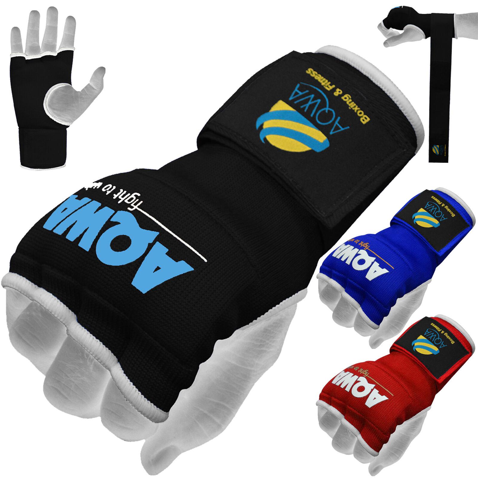 VELO Inner Hand Wraps Boxing Gloves Padded Bandages MMA Gel Muay Thai Karate