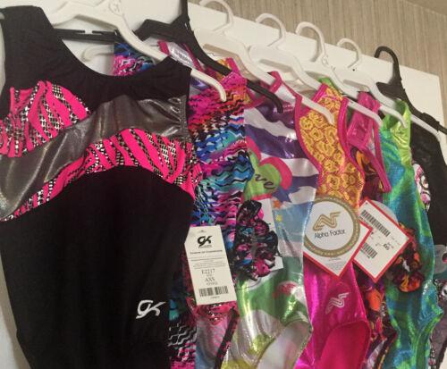 WHOLESALE Lot of Gymnastics Leotards GK Alpha Dreamlight Motionwear /& More NEW