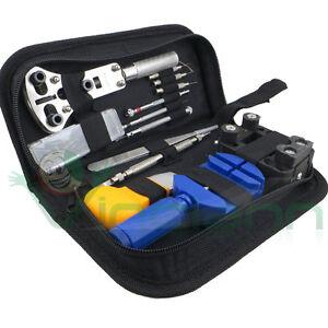 Kit-13-pezzi-set-professionale-custodia-strumenti-riparazione-orologio-orologi