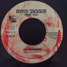 "Rankin Trevor - Jah Vengeance / Dub - Vivian Jackson 7"" 45t Reggae VG+/VG MP3"