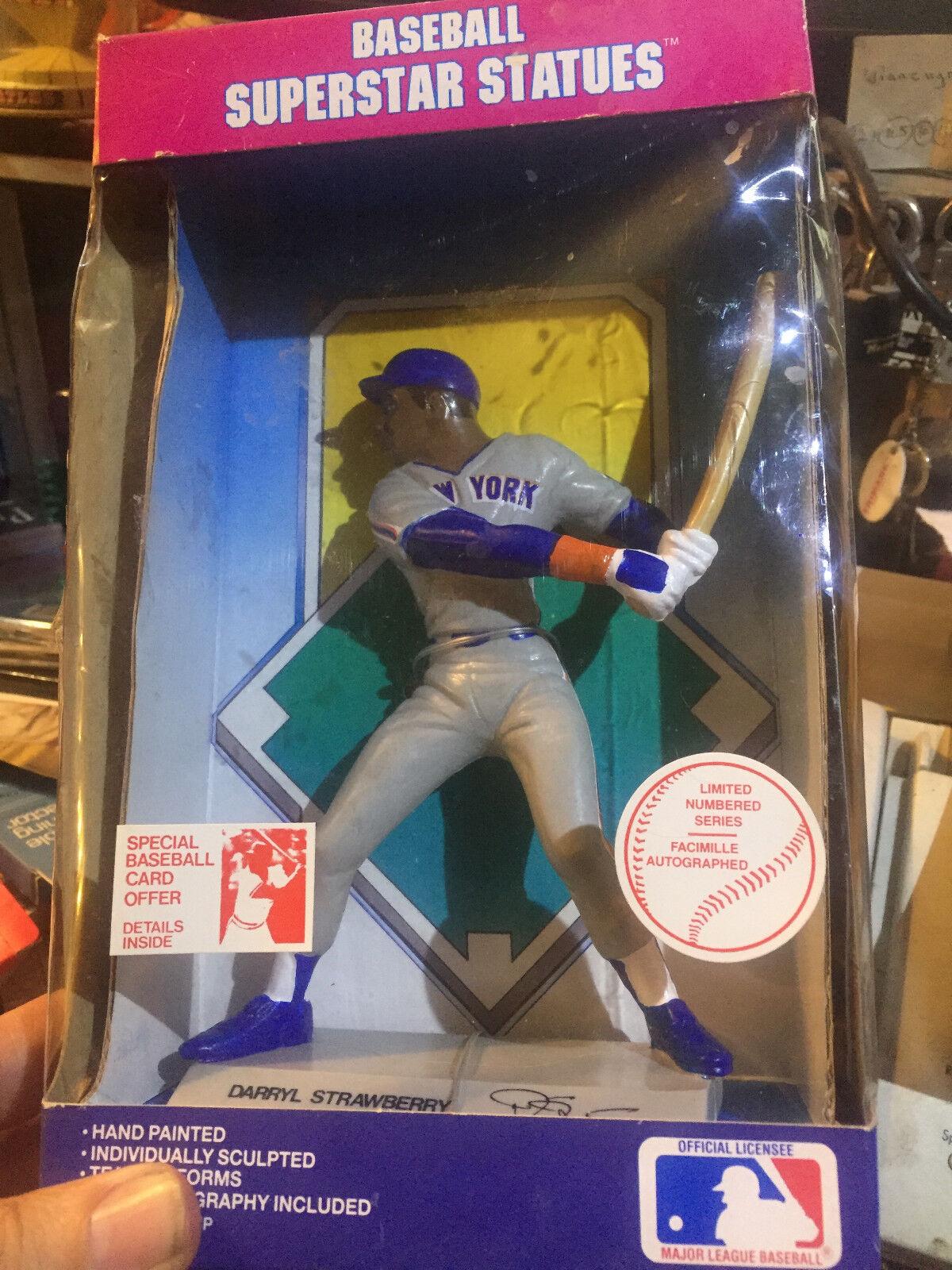 Darryl Strawberry --- 1988 béisbol Superstar estatuas --  nuevo