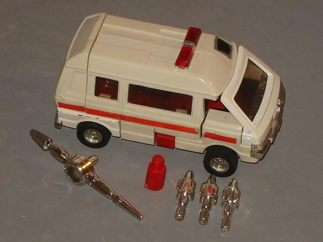 G1 TRANSFORMER AUTOBOT RATCHET completare LOT   3 CLEANED VERY LOOSE JOINTS