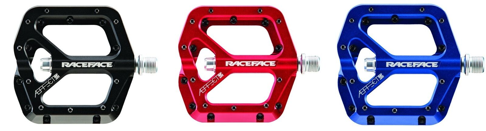 Race Face aeffect pedales Trail, fr, el, dh todos los Colors   Go cycle Shop