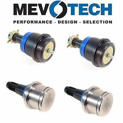 2 Front Upper /& 2 Lower Control Arm Kit Mevotech for Ram 1500 2500 3500 4X4
