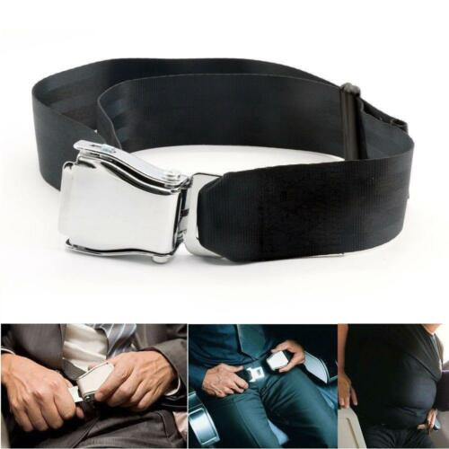 Airline Airplane Seat Belt Buckle Fashion Belt Adjustable Extender N7
