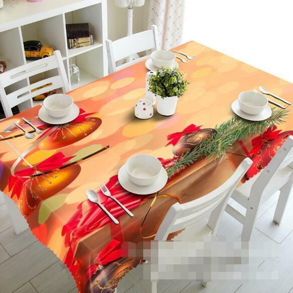 3D rouge ball 98 Tablecloth Table Cover Cloth Birthday Party Event AJ WALLPAPER AU