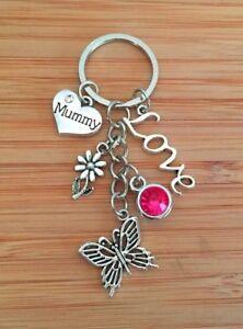Mother/'s day Gift keyring ~ Gift for mum mummy nana nanny grandma sister auntie