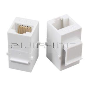 5x female to female cat6 8p8c rj45 utp keystone wall jack ... 8p8c wall jack wiring po ethernet wall jack wiring #11