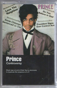 Prince-Controversy-CASSETTE-TAPE-2016-SEALED-new-copy