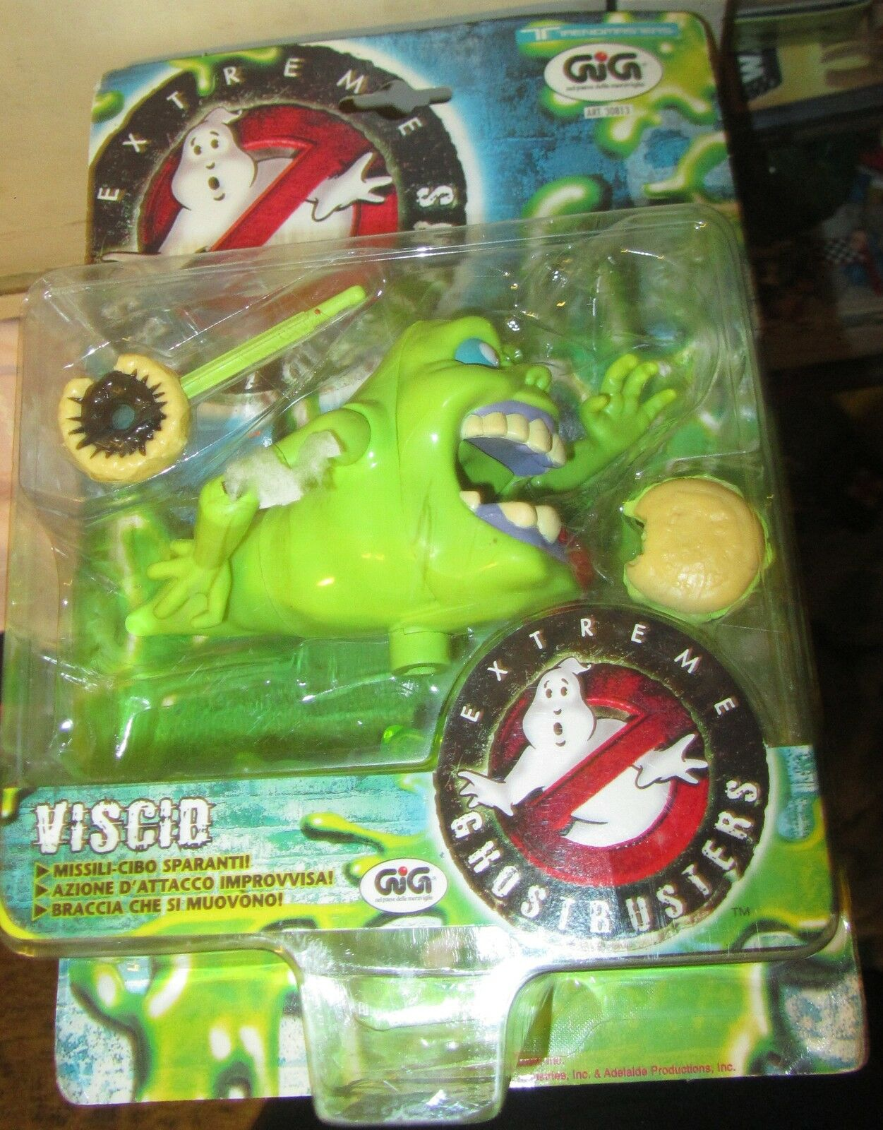 Extreme Ghostbusters Viscid Slimer GIG SPESE GRATIS FONDO DI MAGAZZINO