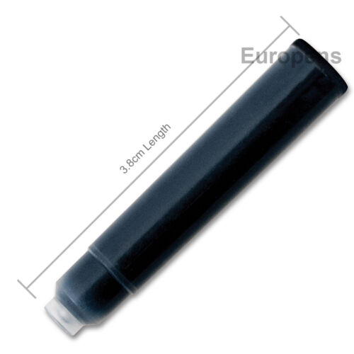 PK of 6 GRAF VON FABER CASTELL Stylo-plume Cartouches d/'encre