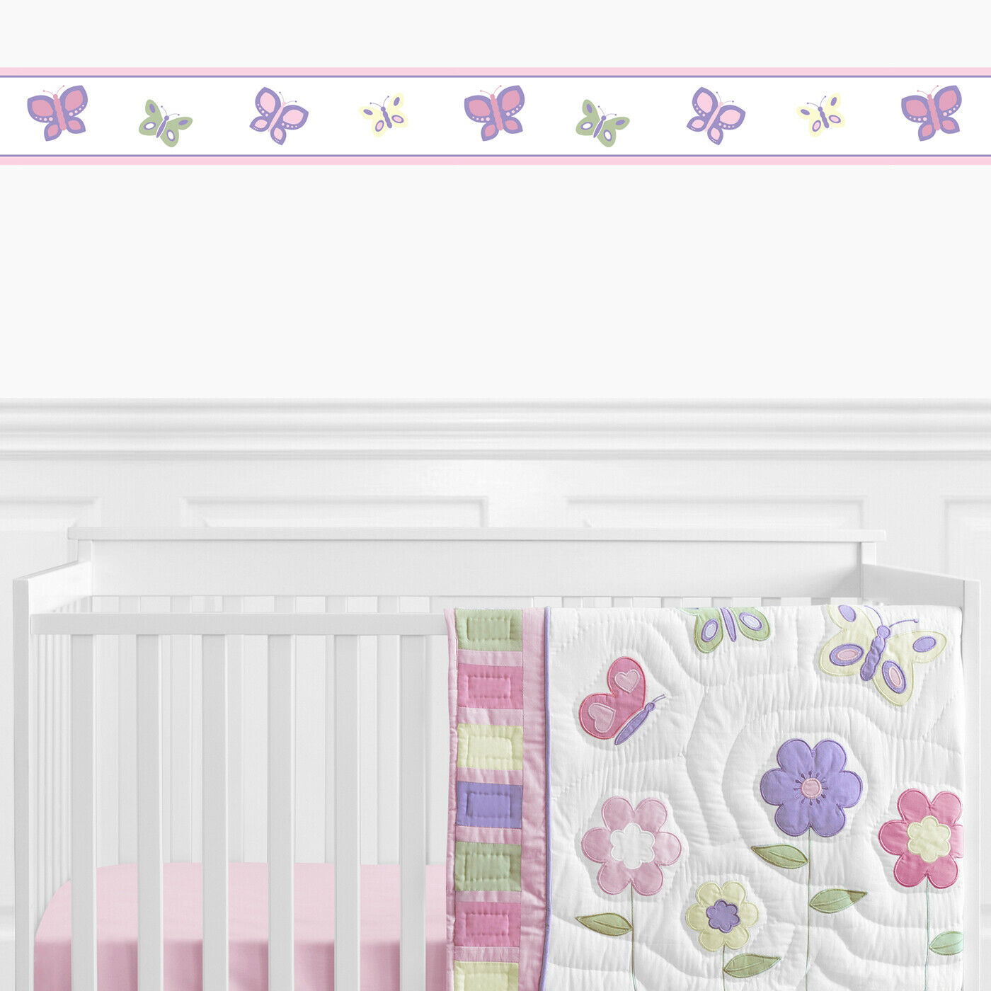 Sweet Jojo Designs Woodland Animal Toile Baby Kid Wall Paper Border Wallcovering For Sale Online Ebay