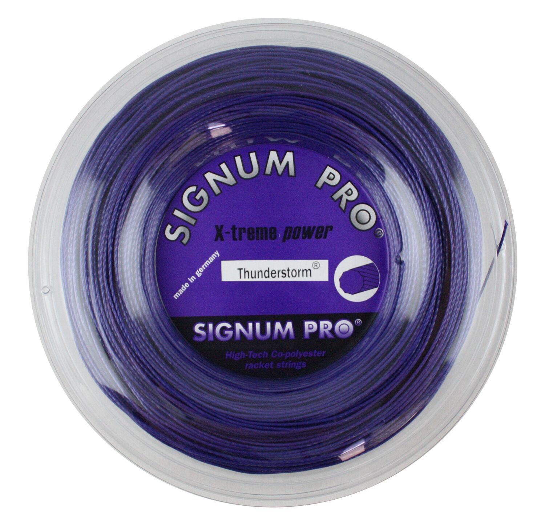 Signum PRO THUNDERSTORM - 1.24 mm-Stringa di tennis-Viola Violet-Mulinello 200 M