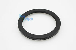 NEW-Metal-Adapter-Filter-Lens-Step-Down-Ring-58-49mm-58mm-to-49mm