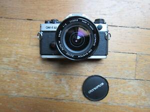 USED Olympus OM-4 T 35mm Camera / 24mm lens