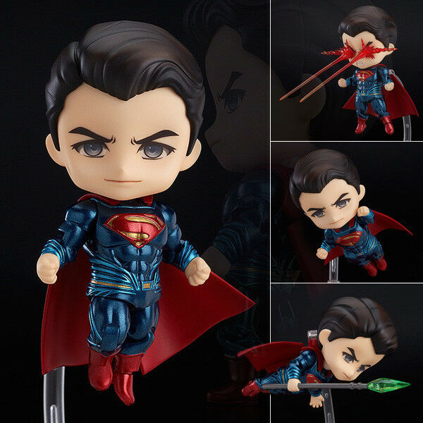 Base NEU /& OVP Superman Returns Exclusive Man of Steel Actionfigur 16cm inkl