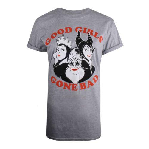 Grey Good Girls Gone Bad T-shirt Disney Ladies