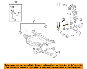 image is loading mercedes-oem-98-03-ml320-rear-suspension-lateral-