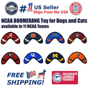 Pets-First-NCAA-Licensed-Dog-Boomerang-Toy-Heavy-Duty-Tough-and-Squeaky-Toy