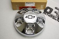 1996-2000 Chevrolet Astro Wheel Center Hub Cap Chrome Bow-Tie new OEM 15697613