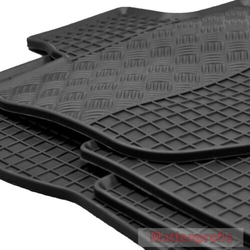 Tappetini IN GOMMA TAPPETINI in GOMMA 4 pezzi per MERCEDES w211 2002-2009 H s211 ab Bj