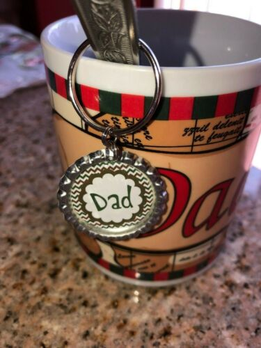 Fathers Day Keyring Best Dad Keyring Worlds Best Dad Keychain Fathers Day Gift