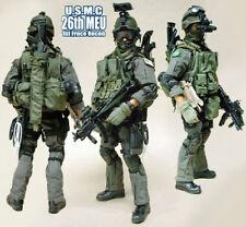 Hot toys Action figure U.S.M.C 26th BATTAGLIONE RICOGNIZIONE 1st SCALA 1/6th