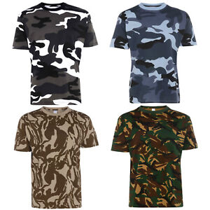 Mens-100-Cotton-Premium-Quality-Camouflage-T-Shirt-Military-Combat-Army-S-5XL