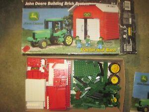 2002 ERTL John Deere Building Brick Set, 275pcs., made by Best-Lock, Complete??