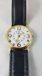 Movado mens vintage  Rare  watch used 14 karat gold rolled, stainless back