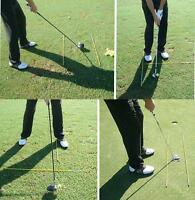 Golf Alignment Sticks & Tour Swing Training Practice Aids- Us Free Shipping