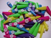 2 1/2 Plastic Kazoos Lot Of 60 Carnival, Party Toys Favors Assorted Colors