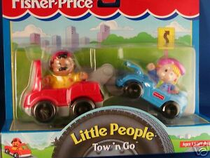 Tow N Go >> Fisher Price Little People Tow N Go 1998 Julie Mechanic Set New
