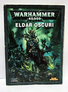 WARHAMMER-40-000-ELDAR-OSCURI-GAMES-WORKSHOP-LIBRO-ITALIANO-USATO-VBC-65482