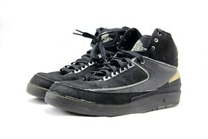 best authentic 3b27e 2a724 Details about 2004 Nike Air Jordan 2 Retro II Black Chrome Sz11.5  308308-001-00