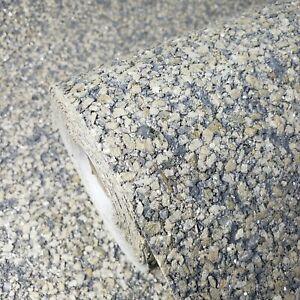 Gray-Bronze-Brass-silver-metallic-glitter-Natural-Mica-Big-Chip-Stone-Wallpaper