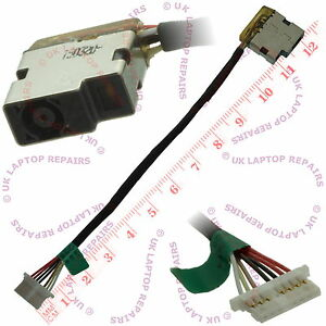 HP-14-AN030AU-DC-Power-Jack-Port-Socket-w-Harness-Cable-Connector