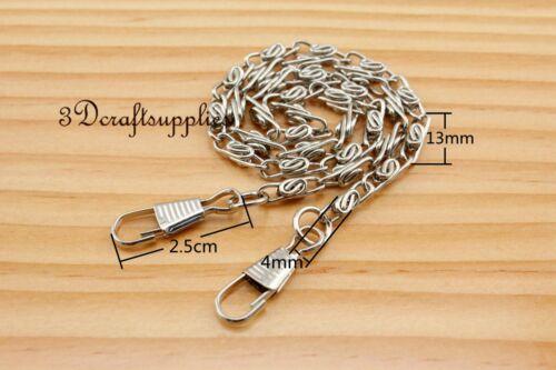 Purse chain metal  handle purse bag chain strap chain nickel silver 40 cm K27