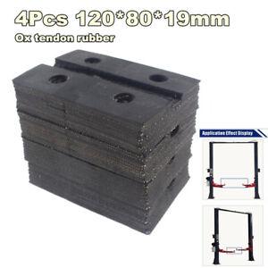 4Pcs-Heavy-Duty-Square-Ox-Tendon-Rubber-Arm-Pads-Rubber-for-Car-Auto-Truck-Hoist