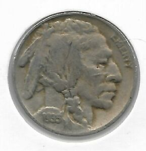 Rare Old Antique 1935 US Buffalo Indian Nickel Collection Great USA Coin LOT:V31