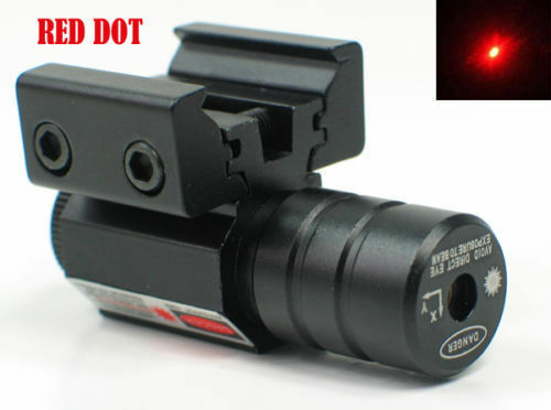 Details about  /Tactical Hunting Green Dot Laser Sight Scope 11mm 20mm Rail Picatinny Mount Gun
