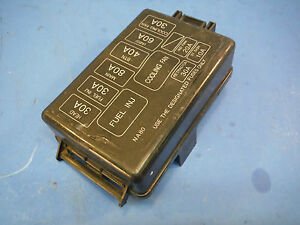 1999 honda civic fuse box under hood 96 miata fuse box under hood miatamecca fuse box lid under hood fits 99-05 mazda miata ... #2