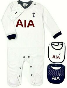 Spurs Tottenham Hotspurs baby football bodysuit any team available