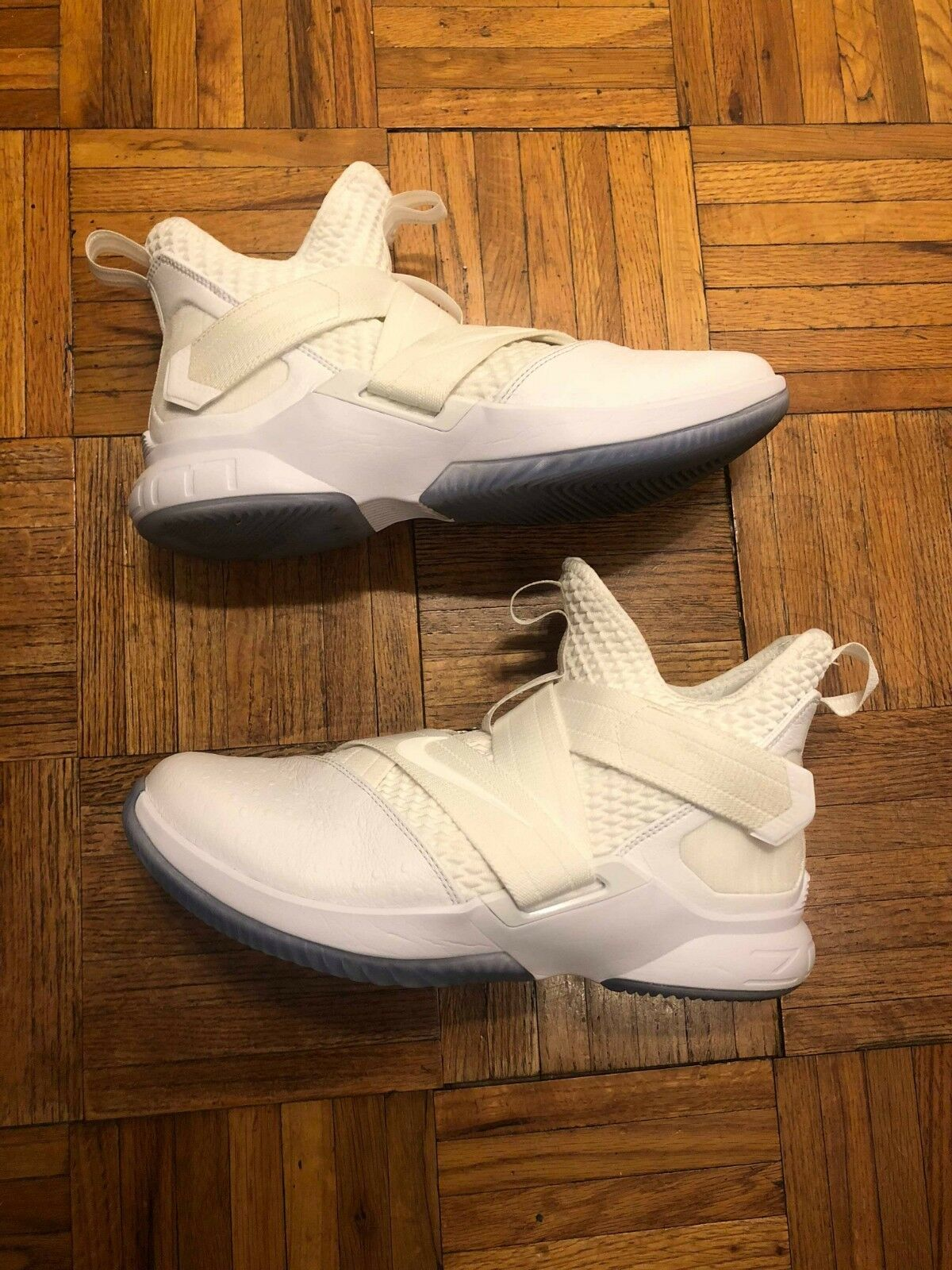 Nike Men's LeBron Soldier XII 12  Strive for Greatness  White 2018