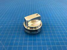 Original LG Range Surface Burner Knob Stainless Part # 316564407