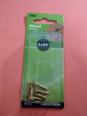 The Hillman Group 7290 Wood Screw 10 X 2-Inch